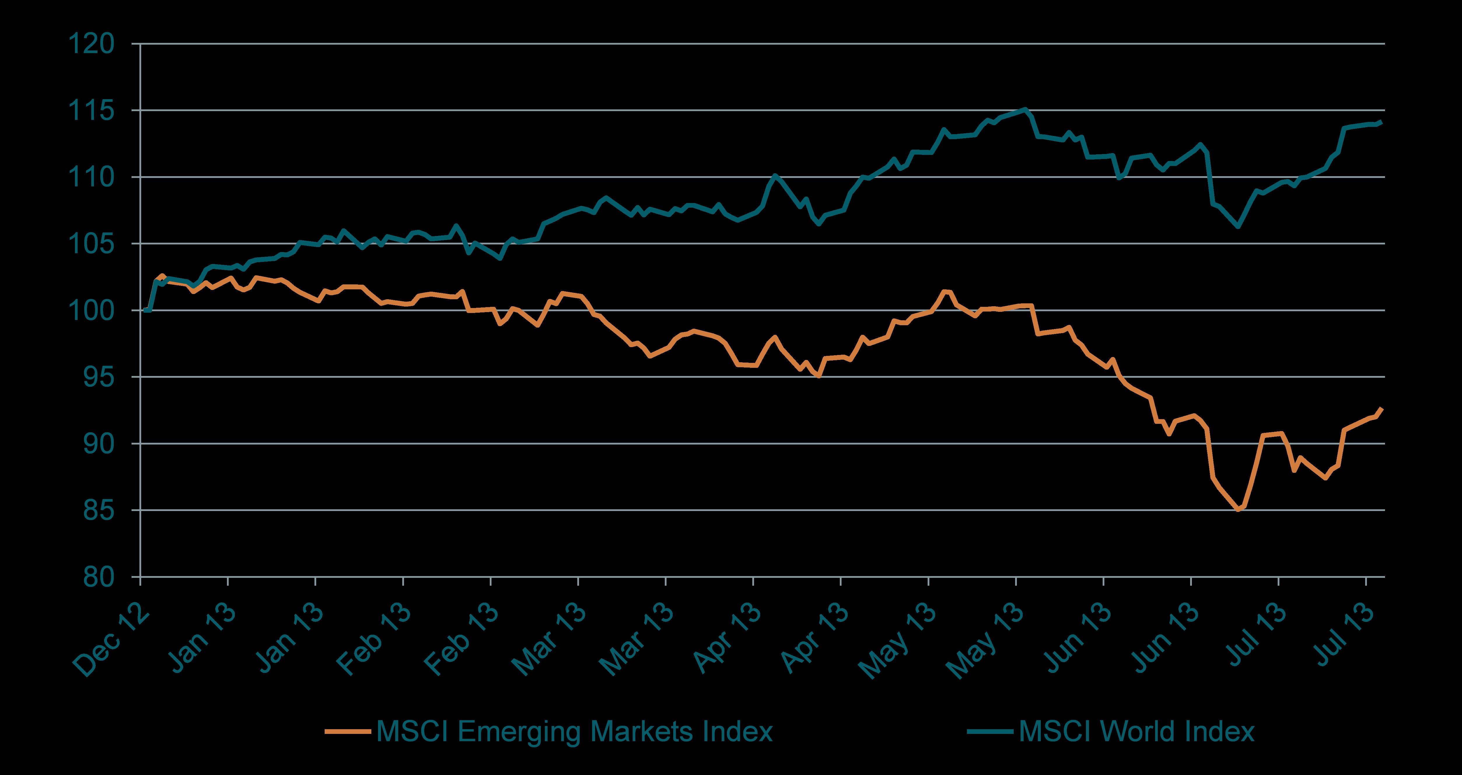 Performance Mercati Emergenti 2013