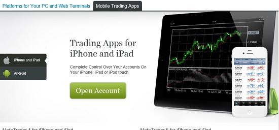 mobile app alpari forex